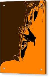 Jazz Acrylic Print by Naxart Studio