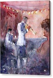 Jazz Nights Acrylic Print