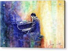 Jazz Pianist Herbie Hancock  Acrylic Print by Yuriy Shevchuk