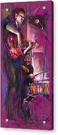 Jazz Purple Duet Acrylic Print