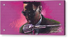 Jazz. Ray Charles.1. Acrylic Print