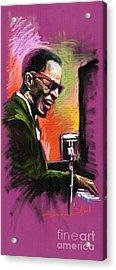 Jazz. Ray Charles.2. Acrylic Print