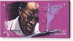 Jazz Ray Acrylic Print by Yuriy  Shevchuk