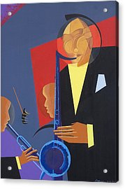 Jazz Sharp Acrylic Print by Kaaria Mucherera