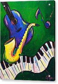 Jazz Time Acrylic Print