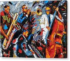 Jazz Unit Acrylic Print by Debra Hurd