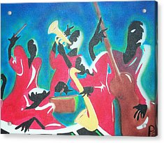 Jazz'en It Up Acrylic Print