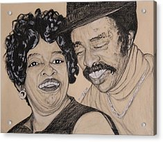 Jb  Wg Portrait Acrylic Print