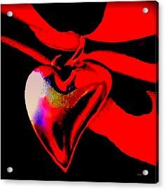 Je T'aime A La  Folie  - Valentine   Dedicated Acrylic Print