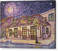 Jean Lafitte Blacksmith Shop Bourbon Street New Orleans Acrylic Print by Catherine Wilson