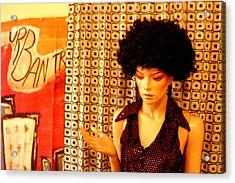 Jeanine 2 Acrylic Print by Jez C Self