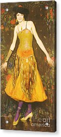 Jeanne Cartier Acrylic Print by Pg Reproductions