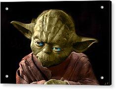 Jedi Yoda Acrylic Print