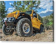 Jeep Life Acrylic Print