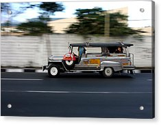 Jeepney 4 Acrylic Print by Jez C Self