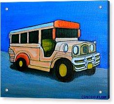 Jeepney Acrylic Print