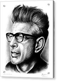 Jeff Goldblum Acrylic Print