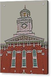 Jefferson County Courthouse Acrylic Print