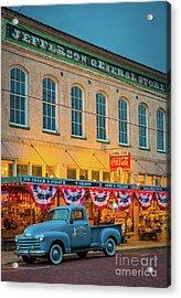 Jefferson General Store Acrylic Print