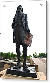 Jefferson In Paris Acrylic Print by Eric Tressler