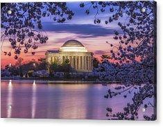 Jefferson Memorial Pre-dawn Acrylic Print