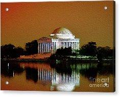 Jefferson Memorial, Washington Acrylic Print