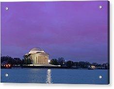 Jefferson Monument Acrylic Print