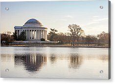 Jefferson Morning Acrylic Print