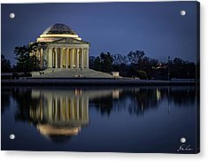 Jefferson Reflecting Acrylic Print