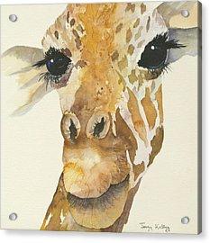 Jeffrey Giraffe Acrylic Print