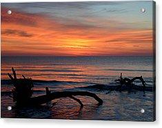 Acrylic Print featuring the photograph Jekyll Island Sunrise 2016c by Bruce Gourley