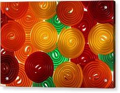 Jello Acrylic Print by Bobby Villapando