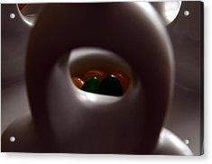 Jelly Bean Buddha Acrylic Print