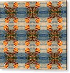 Jellyfish Pattern Acrylic Print