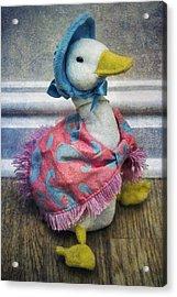 Jemima Puddle Duck Acrylic Print by Ian Mitchell