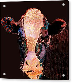 Jemima The Cow Acrylic Print