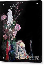 Jenibelle Acrylic Print by Jane Autry