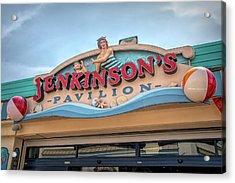 Acrylic Print featuring the photograph Jenkinson's Pavilion by Kristia Adams