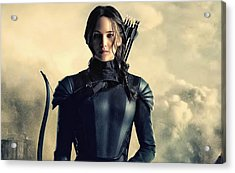Jennifer Lawrence The Hunger Games  2012 Publicity Photo Acrylic Print