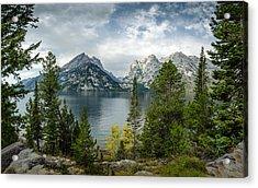 Jenny Lake Overlook Acrylic Print