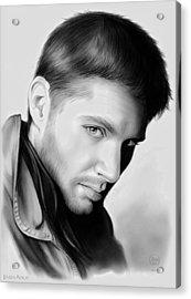 Jensen Ackles Acrylic Print