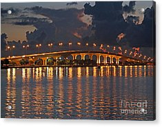 Acrylic Print featuring the photograph Jensen Beach Causeway by Tom Claud