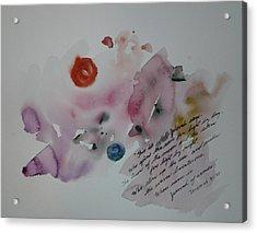 Jeremiah 31 Acrylic Print by B L Qualls