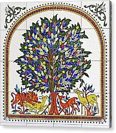 Jericho Tree Of Life Acrylic Print by Munir Alawi