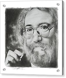 Jerry Garcia Acrylic Print by Don Medina