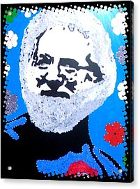 Jerry Garcia In Full View Acrylic Print