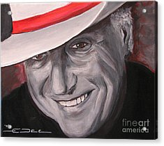Jerry Jeff Walker Acrylic Print