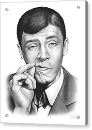 Jerry Lewis Acrylic Print by Greg Joens