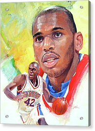 Jerry Stackhouse Acrylic Print