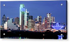 Jerry's Dallas Skyline Acrylic Print